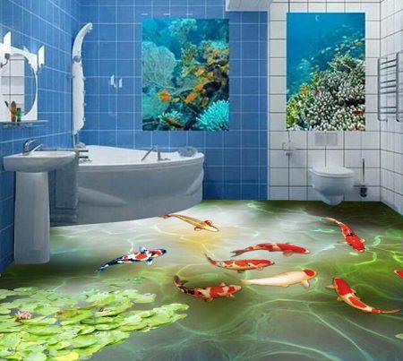 حمامات مودرن شيك ثلاثية البعد (1)