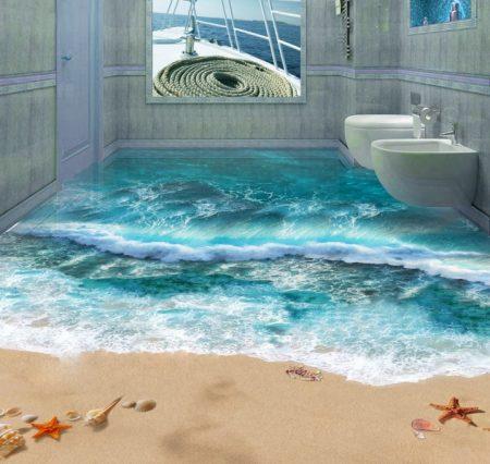 حمامات مودرن شيك ثلاثية البعد (2)