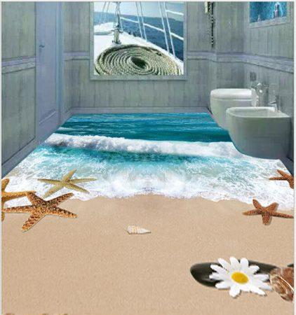 حمامات مودرن شيك ثلاثية البعد (3)