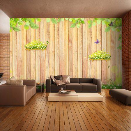 ديكورات خشب للشقق والفلل تصميمات خشبية مودرن (4)