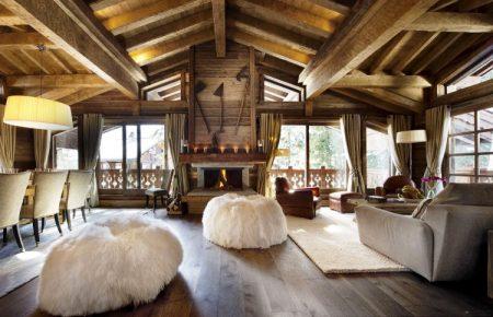ديكورات خشب منازل وفلل (2)