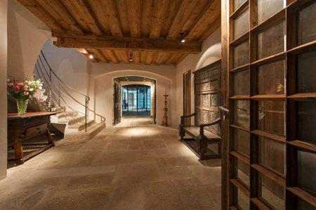ديكورات خشب منازل وفلل (3)