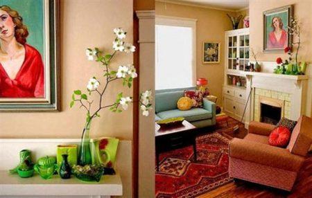 صور افكار منزلية بديكورات جديدة مودرن للشقق والفلل (1)