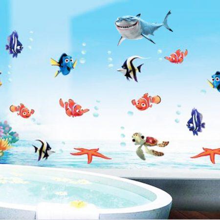 صور حمامات 3d بديكورات مودرن ثلاثية الأبعاد (1)
