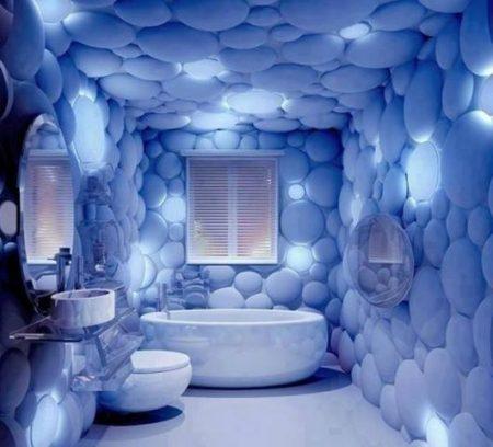 صور حمامات 3d بديكورات مودرن ثلاثية الأبعاد (2)