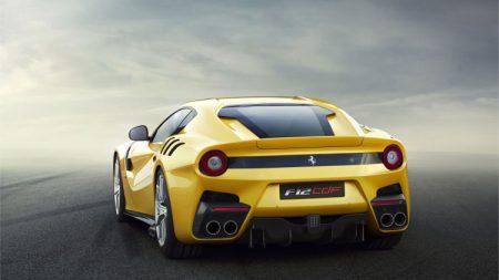 صور سيارات فيراري صفراء (2)