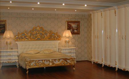 غرف نوم تركية كاملة بديكورات فخمة لغرف العرسان (3)