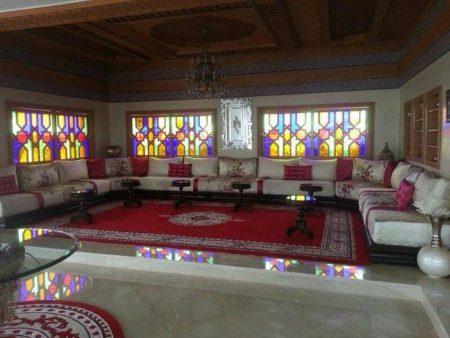 افخم صالونات مغربية شيك عصرية (2)