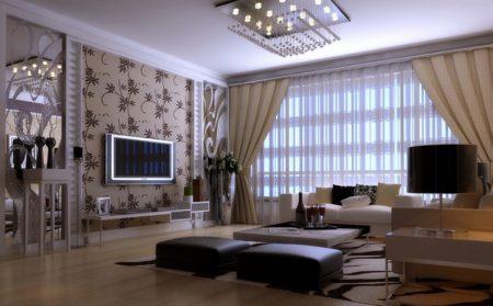 ديكورات تلفاز مسطح (4)
