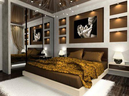 ديكورات غرف نوم مغربية (1)