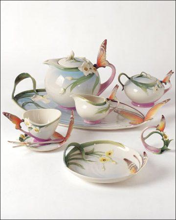 صور اطقم شاي وقهوة مودرن تركي وايطالي للنيش (2)