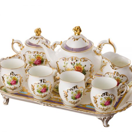 صور اطقم شاي وقهوة مودرن تركي وايطالي للنيش (4)