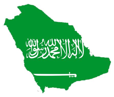 صور بجودة عالية لعلم السعودية (1)