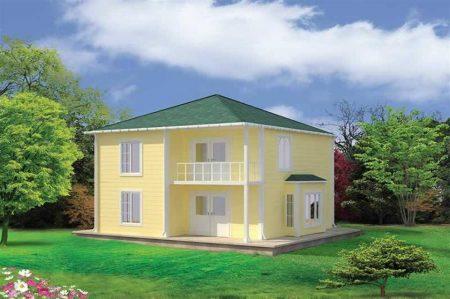صور منازل صغيرة وبسيطة من الخارج مودرن (3)