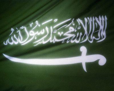 علم دولة السعودية (2)