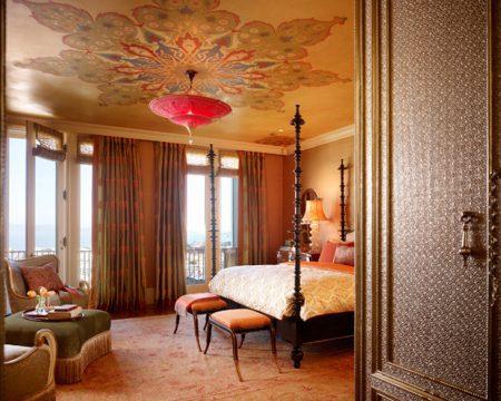 غرف نوم بتصميمات مغربية (4)