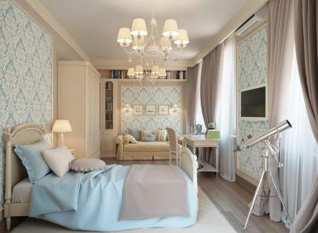 غرف نوم كلاسيكية (1)