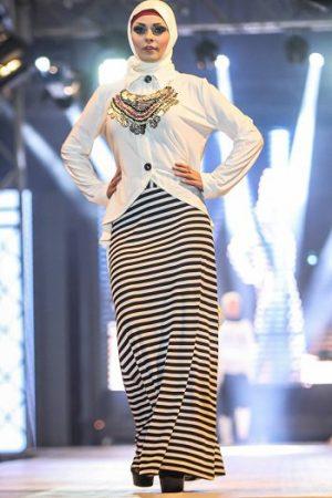 فستان محجبات حديث مودرن شيك 2017 (1)