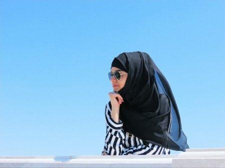 فستان محجبات حديث مودرن شيك 2017 (2)