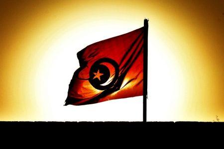 Flag علم تونس