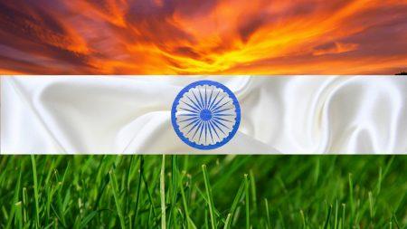 اجمل خلفيات صور العلم الهندي (3)