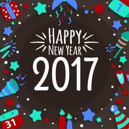 اجمل صور تهنئة بمناسبة العام الجديد 2017 (2)