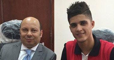 اللاعب احمد الشيخ (2)