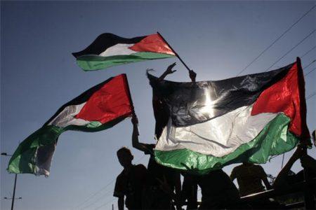 رفرفة علم فلسطين (1)