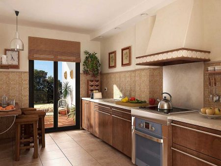 صور تشطيب المطبخ (1)