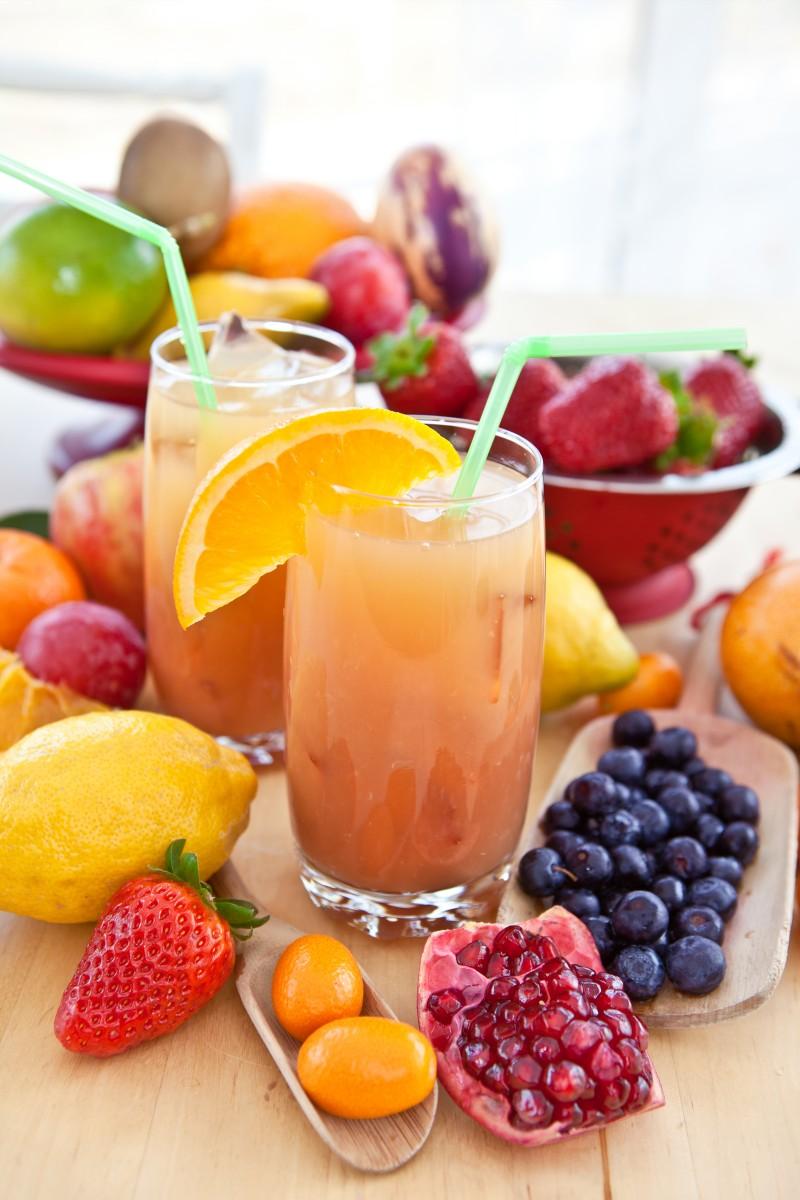 صور عصير في اشكال وافكار جديدة لتقديم العصير ميكساتك