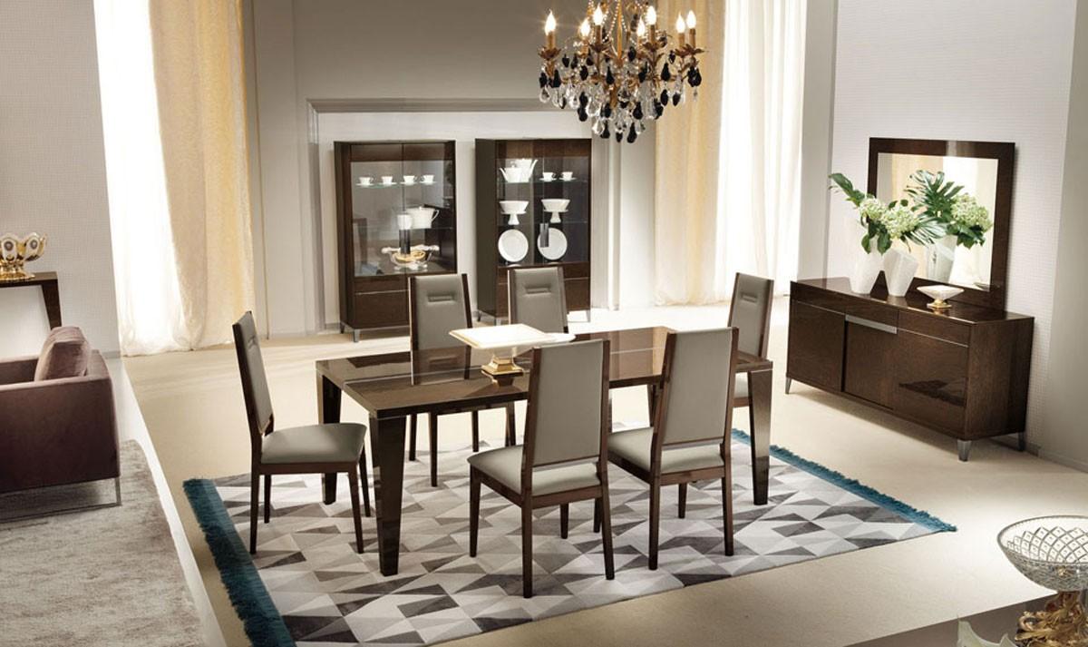 50 Best Dining Room Sets For 2017: احدث غرف سفرة مودرن 2017 بمختلف الأشكال