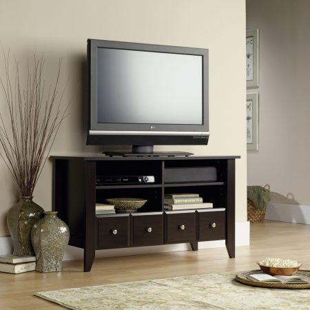 ترابيزة تليفزيون LCD مودرن وكلاسيك بديكورات تلفاز فخمة (3)