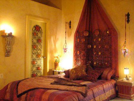 ديكورات غرف نوم 2017 خليجية ومغربية مودرن (4)