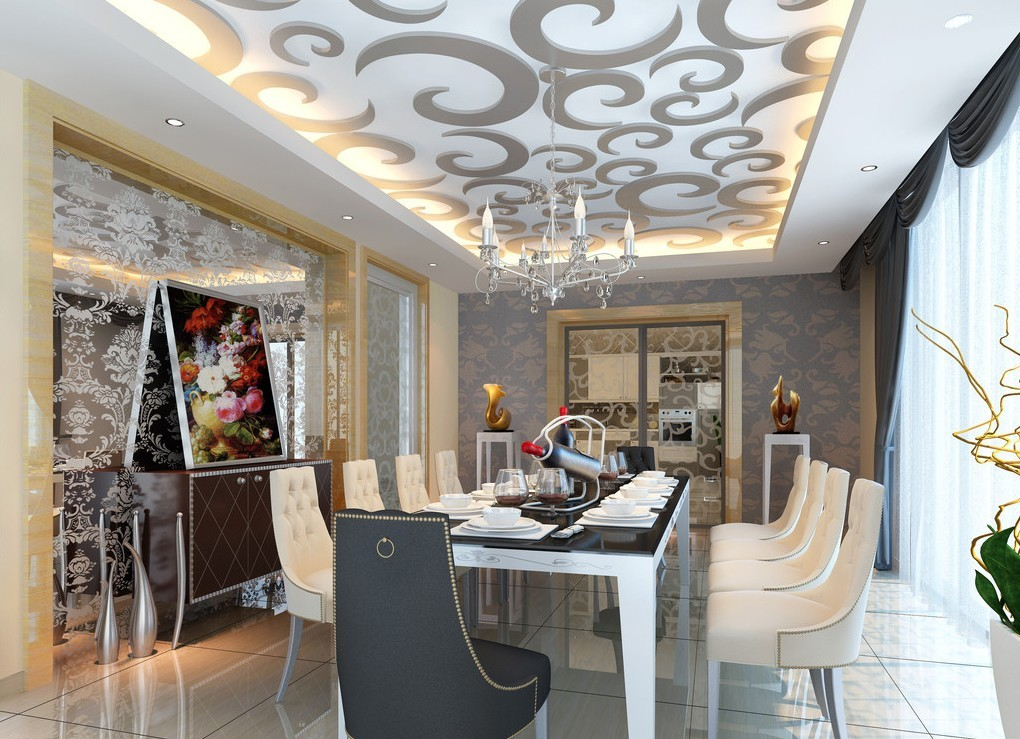 for 3d wallpaper for dining room