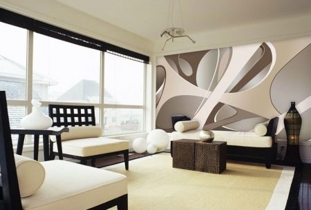 صور ورق جدران مودرن ثلاثي الابعاد شيك وجديد (4)