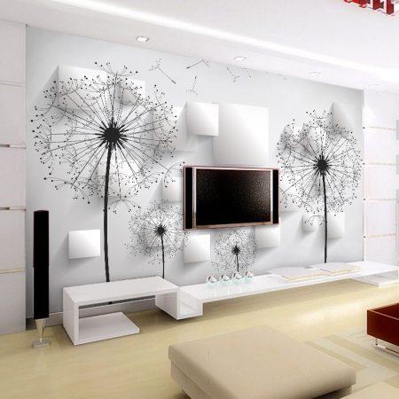 ورق جدران ثلاثي الابعاد مودرن للشقق والفلل (2)