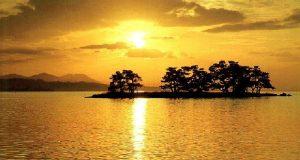 اجمل صور غروب الشمس امام البحر (3)