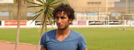 اللاعب المصري عمرو وردة (2)