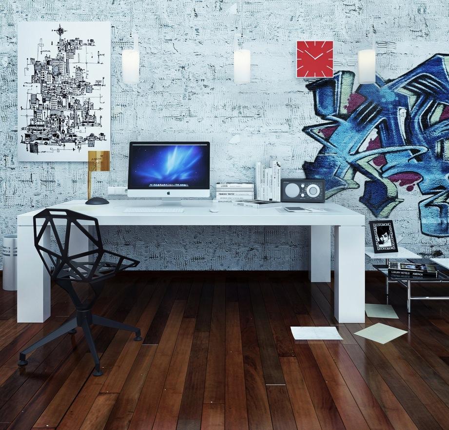 Amazing Interior Design Ideas For Home: صور مكاتب 2017 تصميمات مكتب بديكورات جديدة مودرن