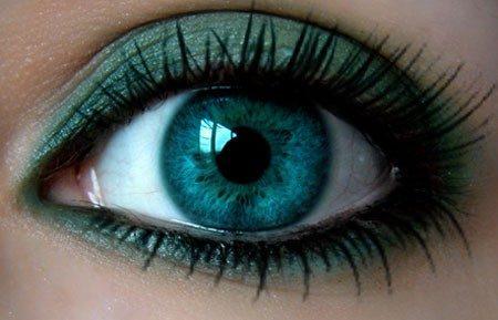 رمزيات وخلفيات عين خضراء (2)