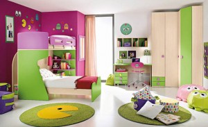 دهانات غرف نوم اطفال 22