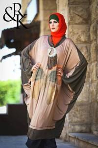 ازياء للمحجبات للصيف من رهف وكنزى 2014