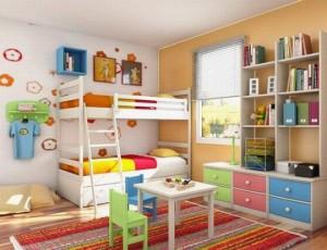 ديكورات غرف نوم اطفال 55
