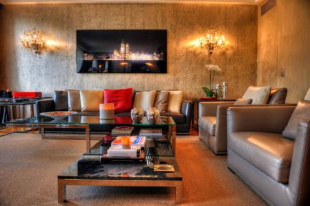 تصميمات غرف معيشة 2014