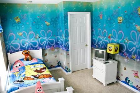 دهانات غرف نوم اطفال