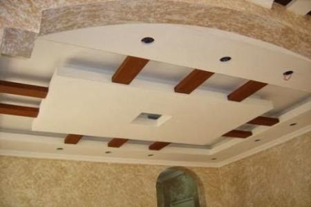 اسقف جبس معلقة