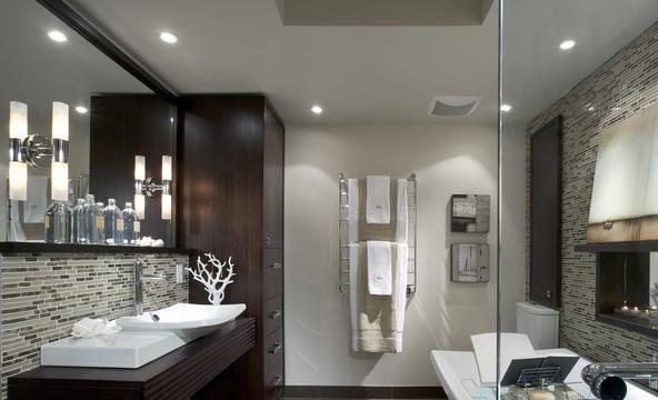 5 Stunning Bathrooms By Candice Olson: ديكورات حمامات صغيرة المساحة 2014