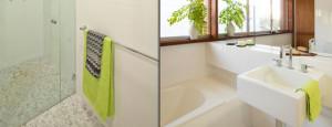 ديكور حمامات صغيرة الحجم