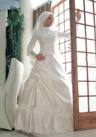 احلي فساتين زفاف محجبات