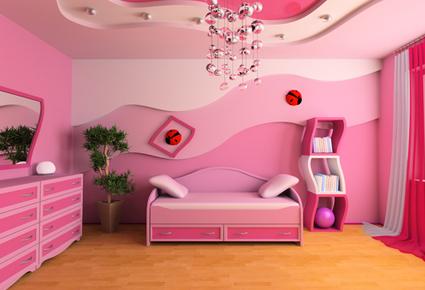 الوان بويات غرف بنات